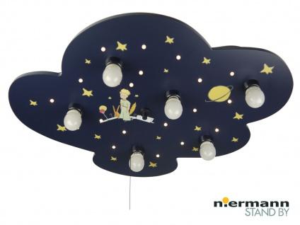 Kinder Deckenleuchte mit Zugschalter für LED-Schlummerlicht Kinderlampe Wolke