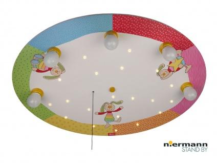 Kinder Deckenleuchte mit Zugschalter für LED-Schlummerlicht Kinderlampe