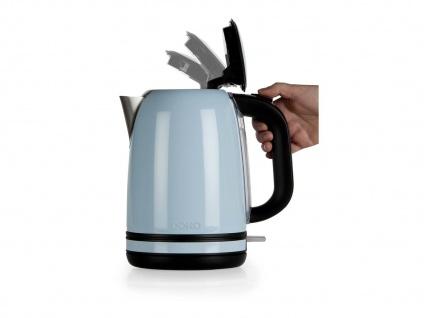 Frühstücksset im Retro Design Blau Filterkaffeemaschine Wasserkocher und Toaster - Vorschau 4