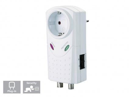 Überspannungschutz Geräteschutzadapter Überspannungsstecker mit Kindersicherung