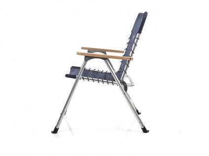SET für 2 Personen stabiler klappbarer Campingtisch höhenverstellbar Regiestühle - Vorschau 4