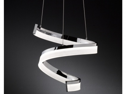 LED Pendelleuchte dimmbar, Chrom poliert, Wofi-Leuchten - Vorschau 4
