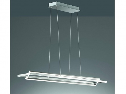 Stylishe LED Balken Pendelleuchte dimmbar schwenkbar - 113cm lange Esstischlampe