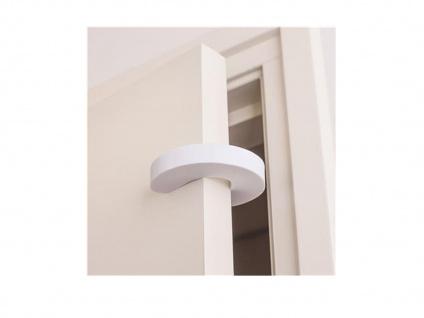 2x Türstopper, verhindert das Einklemmen, Kindersicherheit, Zugluftschutz - Vorschau 4