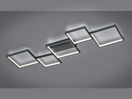 Flache eckige LED Deckenlampen, coole indirekte Jugendzimmer Deckenbeleuchtung