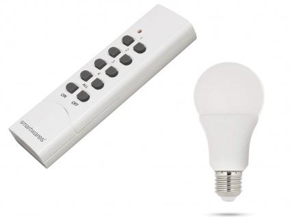 7W RGB Farbwechsler LED Beleuchtung Lampe Licht mit Fernbedienung warmweiß Ø6cm