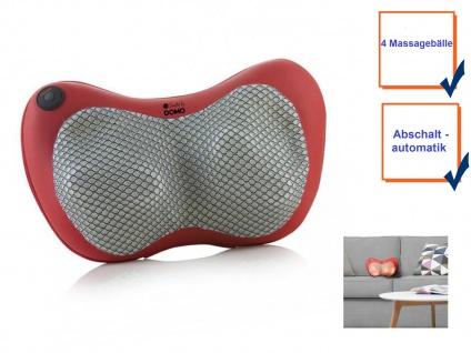 Beheizbares Shiatsu Massagekissen mit 4 Massagebällen zur Muskelentspannung - Vorschau 3