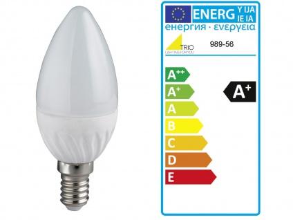 LED Wandspot 1 flammig mit Stoff Lampenschirm in weiß, schwenkbarer Wandstrahler - Vorschau 5