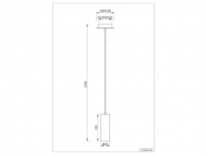 LED Pendelleuchte für Wohnzimmer, Schlafzimmer, Küche & Flur, Metall Silber matt - Vorschau 5