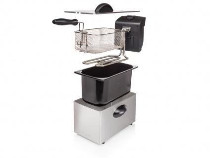 Tristar Edelstahl Fritteuse 2000W, 3 Liter, Kaltzonen Elektro Fritteuse Friteuse - Vorschau 4