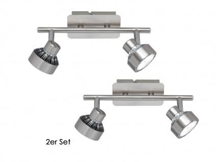 2er Set LED Deckenleuchte LOCAL, dimmbar, Deckenlampe Deckenbalken Spotleiste - Vorschau 2
