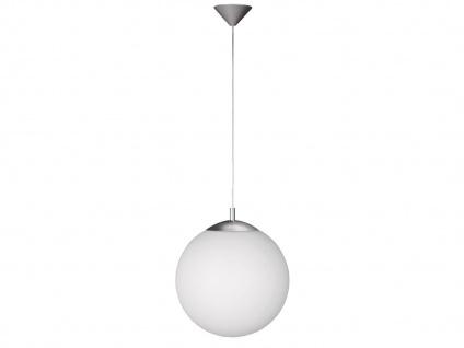 Kugel-Pendelleuchte Ø 35 cm, Glas opalweiß, Wofi-Leuchten