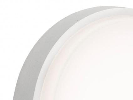 2er-Set LED Wandleuchten / Deckenleuchten CESENA weiß, 10W, 900 Lumen - Vorschau 3