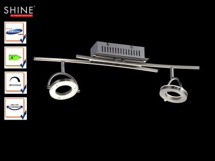 LED Deckenleuchte, Spots schwenkbar, dimmbar, Fischer Leuchten