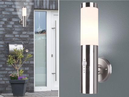 Edelstahl Außenwandleuchten mit Bewegungsmelder Terrassenlampen für Außenbereich