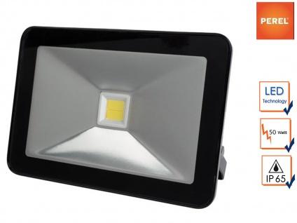 LED Arbeitsleuchte Flutlicht 50W neutralweiß, Scheinwerfer Fluter Baustrahler