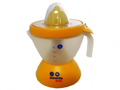 Zitruspresse, Obstpresse mit einer 22 Watt Leistung, inkl. Fruchtfleischdosierer