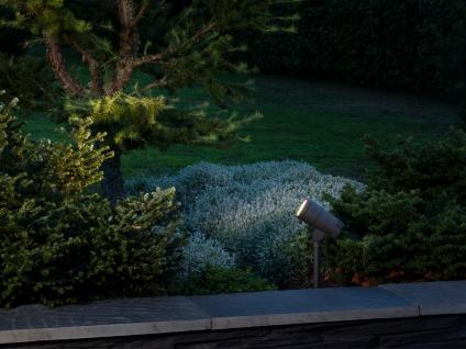 2 x Erdspießleuchte LED Gartenstrahler schwenkbar, Beleuchtung Fassade Haus IP54 - Vorschau 3