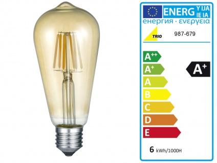 Außergewöhnliche LED Stehlampe Industrial Design mit Wasserrohr Rostoptik antik - Vorschau 4