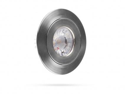 4 LED Einbaustrahler 4, 5W Spot schwenkbar, dimmbar, Deckenstrahler Einbauleuchte - Vorschau 4