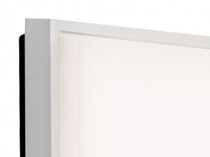 2er-Set LED Wandleuchten / Deckenleuchten CESENA eckig weiß, 10W, 900 Lm, IP54 - Vorschau 3