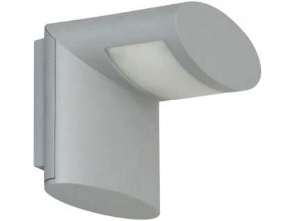 LED Außenwandleuchte IP54, Aluminium grau, inkl. SMD-LED 3W/210 Lumen