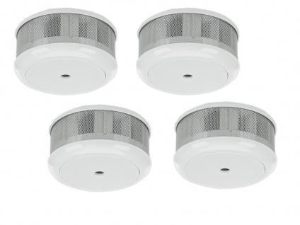 4er-Set Mini 10-Jahres Rauchwarnmelder VDS & DIN EN14604/ Maße nur 75 x 35 mm - Vorschau 2