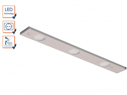 LED-Lichtleiste mit Bewegungssensor L. 45, 3cm Einbau in Schränke u.a. Möbel