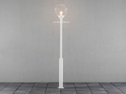 Außenstehleuchte Straßenlaterne weiß 240cm, Straßenbeleuchtung, Konstsmide