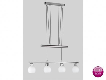 Trio LED-JoJo-Pendelleuchte, inkl. 4 x 4 W LEDs, E14, Höhe 85-180 cm