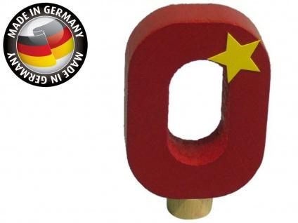 Geburtstagszahl 0 für Niermann Kerzenhalter, Holz, Happy Zahl Geburtstag Kinder