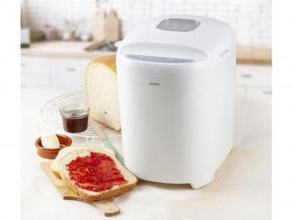 Brotbackautomat mit Timer & 11 Programmen - 700-900g Brot backen auch glutenfrei