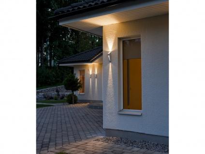 2er-Set Up/Down Außenwandleuchten IMOLA, 6 Watt HP-LEDs, IP44 - Vorschau 5