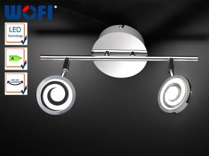 LED-Deckenstrahler Chrom, Spots schwenkbar, Wofi-Leuchten