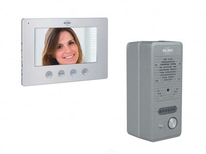 Video Gegensprechanlage mit Monitor und Lochkamera, Freisprechanlage Haustür