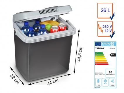 Thermoelektrische 26L Kühlbox & Warmhaltebox 12V/230V für Camping Auto Thermobox