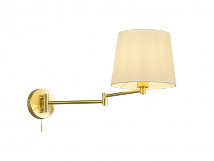 Schwenkbare Wandleuchte mit Gelenkarm - LED Leselampe für Bett und Wandmontage - Vorschau 2