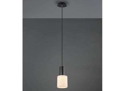 LED Pendelleuchte Textilschirm Rund Creme - optimale Beleuchtung über Esstisch