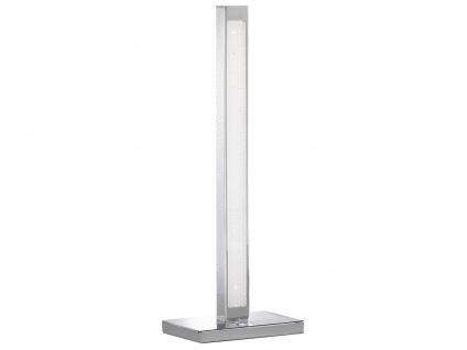 2er Set LED Tischleuchte 3-Stufen Dimmer Chrom H. 44cm Wohnraumleuchten Lampen - Vorschau 4