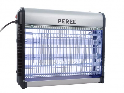 Profi Insektenschutz UV Lampe, Elektrolicht gegen Fliegen Schnaken, Mückenabwehr
