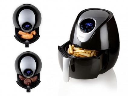 Digitale 3, 5 Liter Heißluftfritteuse, frittieren ohne Öl + ohne Fett LOW FETT - Vorschau 2