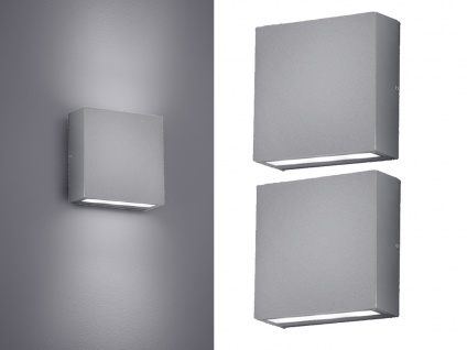 LED Wandleuchte 2er Set für Außen & Innen Titan UP/DOWN - Fassadenbeleuchtung