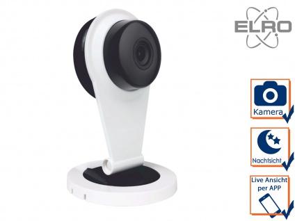 Überwachungskamera mit Aufzeichnung ELRO Smart Home Alarmanlage AS8000 mit App