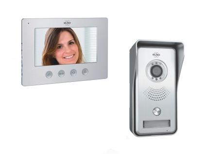 IP Video Türsprechanlage mit Wifi Innenmonitor, Wlan Klingelanlage Smartphone