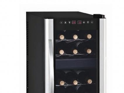 Profi Weinkühlschrank 21 Flaschen 2 Zonen Weinklimaschrank Weinkühler, GGG - Vorschau 3