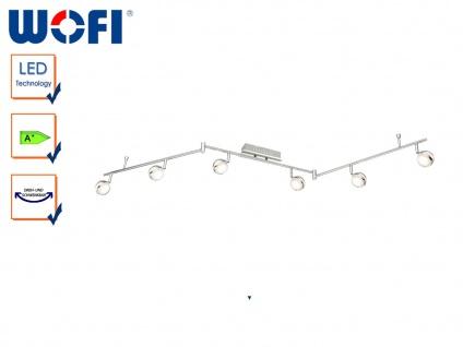 LED Deckenleuchte Retro, Spots & Arme schwenkbar, Wofi-Leuchten