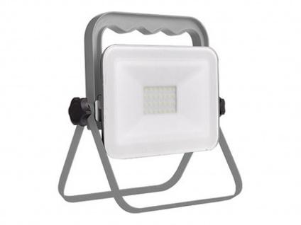 Klappbarer Baustrahler LED Fluter Arbeitsscheinwerfer 20W mit 1, 8m Kabel