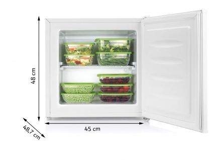 Mini Gefrierschrank 35L Kleine Gefriertruhe Tisch Tiefkühlschrank Gefrierbox