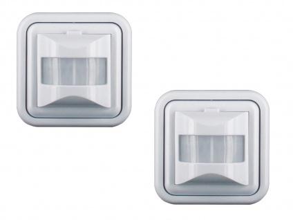 2er-Set Unterputz Bewegungsmelder 160° geeignet für LEDs