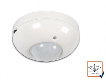 360° PIR Decken Bewegungsmelder, Aufputz, 1200W, Bewegungssensor PIR Sensor